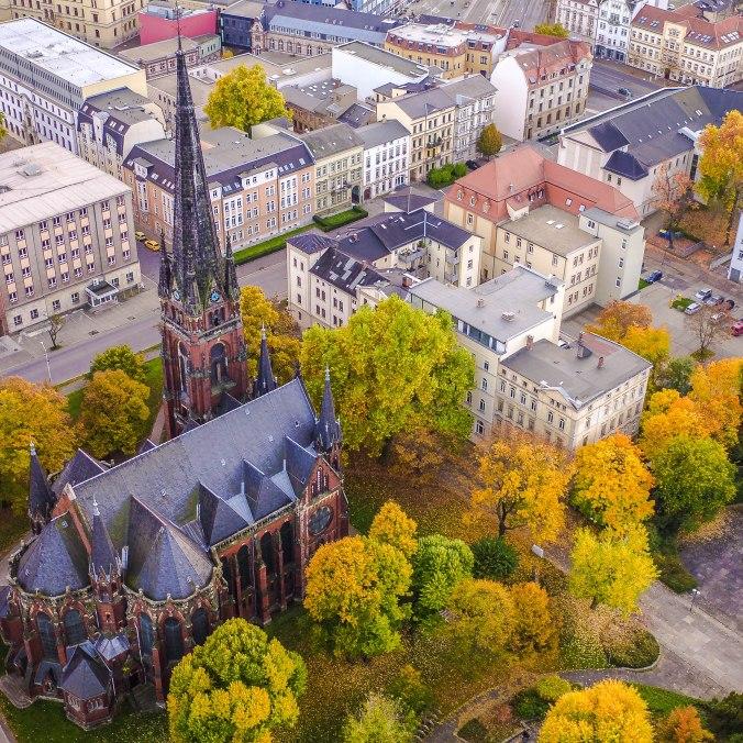 St. Johannis - Luftbild